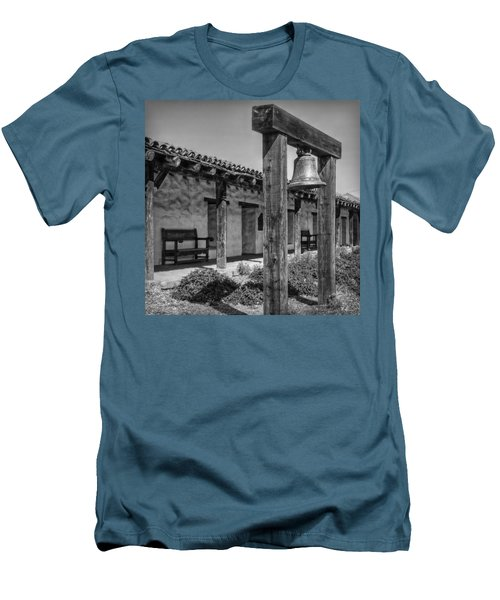 The Mission Bell B/w Men's T-Shirt (Slim Fit) by Hanny Heim