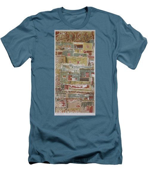 The Mountain Village Men's T-Shirt (Athletic Fit)
