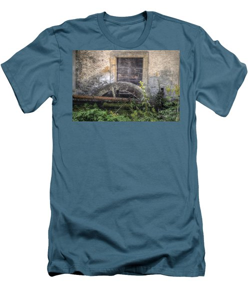 The Old Mill Men's T-Shirt (Slim Fit) by Michelle Meenawong