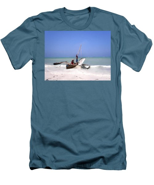 The Outrigger Men's T-Shirt (Athletic Fit)
