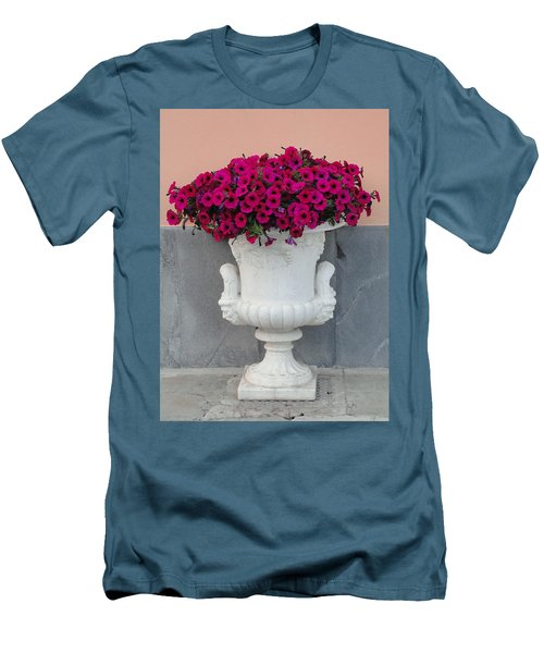 Men's T-Shirt (Slim Fit) featuring the photograph The Planter by Natalie Ortiz