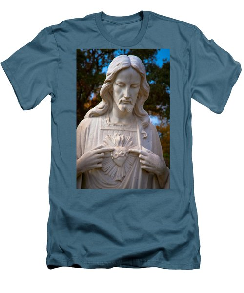 The Sacred Heart Men's T-Shirt (Athletic Fit)