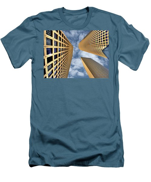 The Sky Is The Limit Men's T-Shirt (Slim Fit) by Ron Shoshani