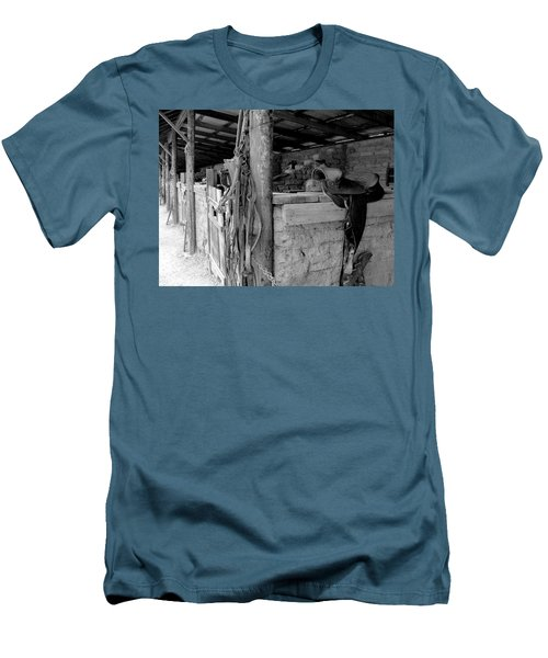 Men's T-Shirt (Slim Fit) featuring the photograph Very Stable by Natalie Ortiz