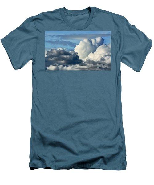 The Storm Arrives Men's T-Shirt (Slim Fit) by Susan Wiedmann