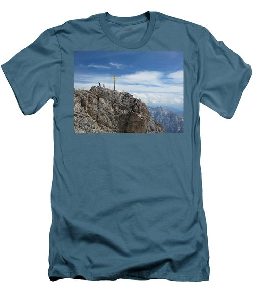 Men's T-Shirt (Slim Fit) featuring the photograph The Summit by Pema Hou