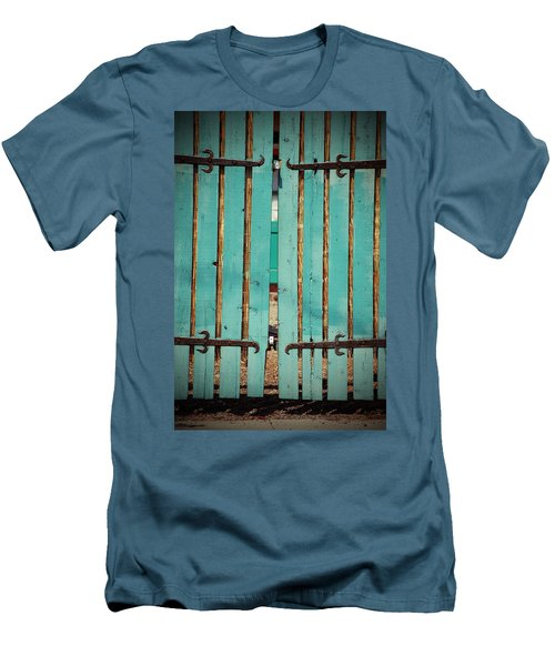 The Turquoise Gate Men's T-Shirt (Slim Fit)
