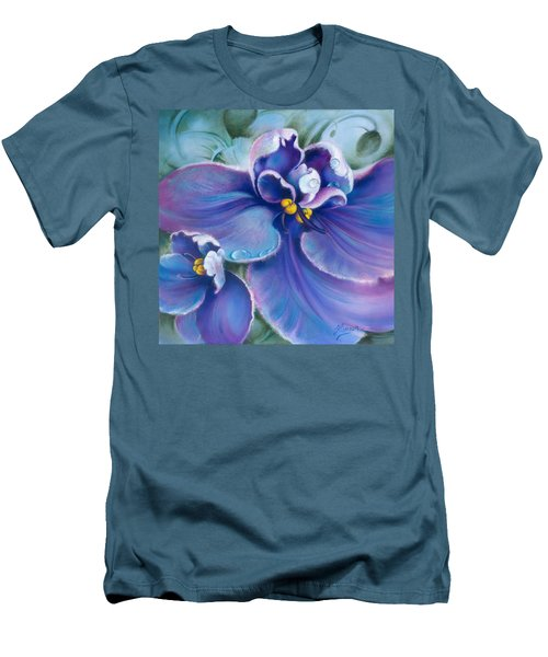 The Violet Men's T-Shirt (Athletic Fit)