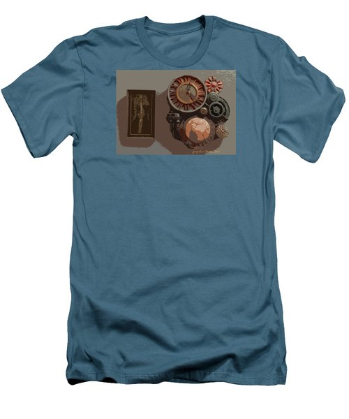 The Wall Clock Men's T-Shirt (Athletic Fit)