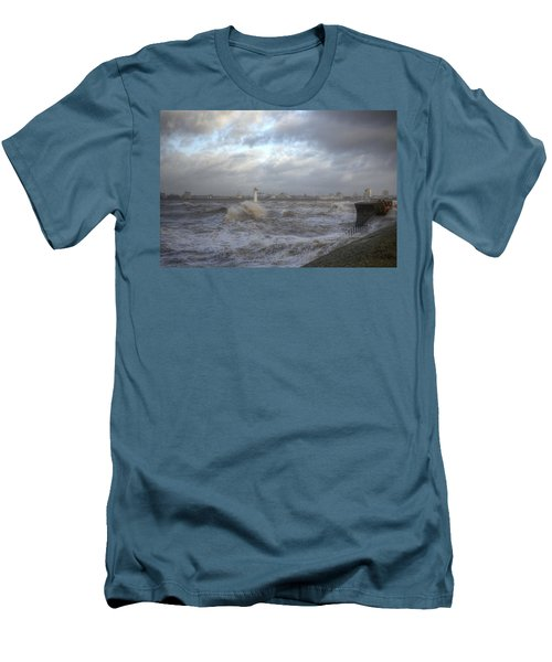 The Wild Mersey 2 Men's T-Shirt (Slim Fit) by Spikey Mouse Photography