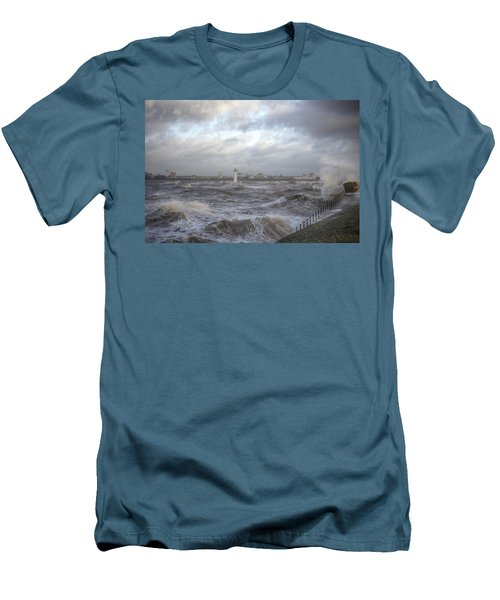 The Wild Mersey Men's T-Shirt (Slim Fit) by Spikey Mouse Photography