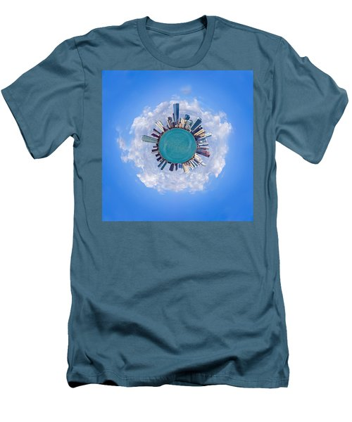 Men's T-Shirt (Slim Fit) featuring the photograph The World Of Miami by Carsten Reisinger