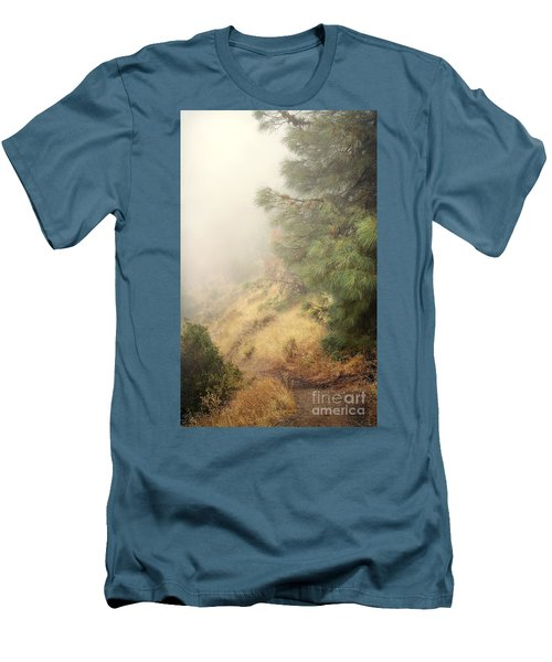 Men's T-Shirt (Slim Fit) featuring the photograph There And Back Again 2 by Ellen Cotton