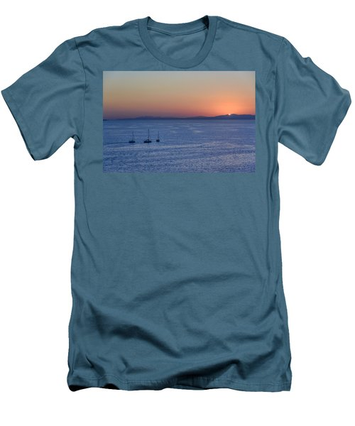 Men's T-Shirt (Athletic Fit) featuring the photograph Three Dreams by Steven Sparks