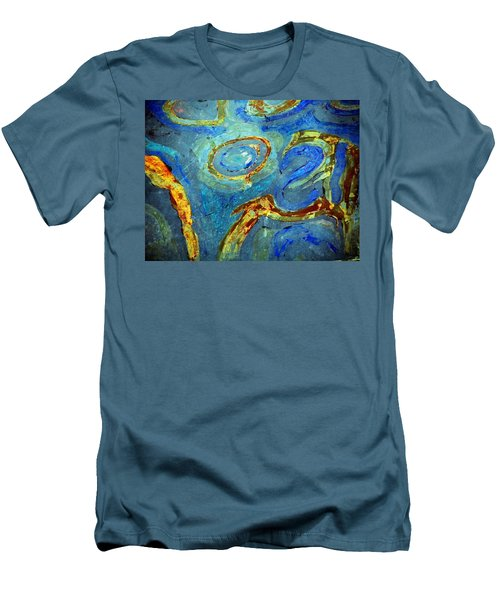 Tickled Men's T-Shirt (Slim Fit) by Leanna Lomanski