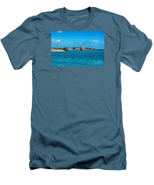 Tiki Bar Islamorada Men's T-Shirt (Athletic Fit)