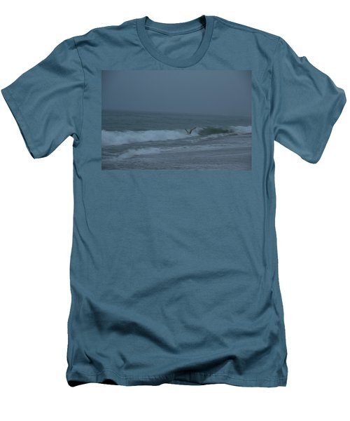 Men's T-Shirt (Slim Fit) featuring the photograph To The Galley by Neal Eslinger