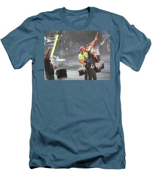 Toby Mac Headline Winterjam Men's T-Shirt (Slim Fit) by Aaron Martens