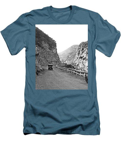 Topanga Canyon Road In La Men's T-Shirt (Athletic Fit)