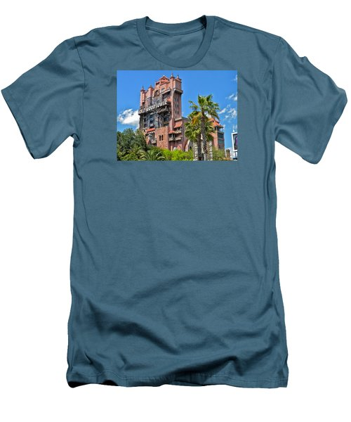 Tower Of Terror Men's T-Shirt (Slim Fit) by Thomas Woolworth
