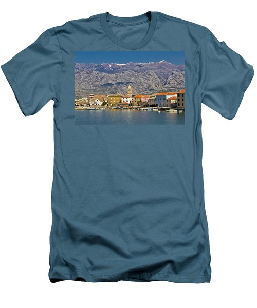 Town Of Vinjerac Waterfrot View Men's T-Shirt (Athletic Fit)
