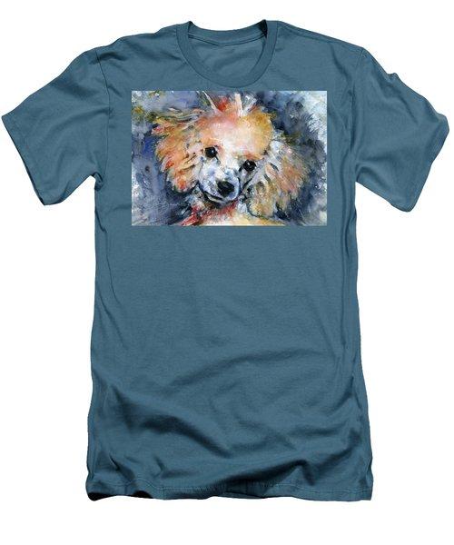 Toy Poodle Men's T-Shirt (Athletic Fit)