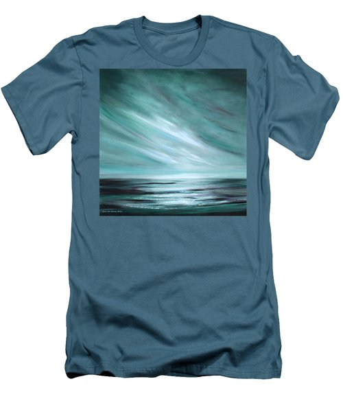 Tranquility Sunset Men's T-Shirt (Athletic Fit)