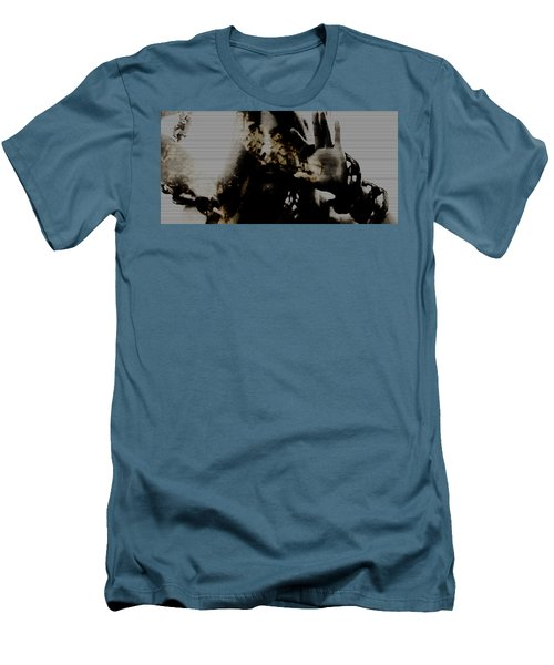 Men's T-Shirt (Slim Fit) featuring the photograph Trapped Inside by Jessica Shelton