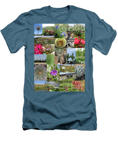 Men's T-Shirt (Athletic Fit) featuring the photograph Traveling Baby Pandas At The Plant Nursery. California. by Ausra Huntington nee Paulauskaite