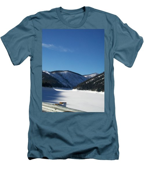 Men's T-Shirt (Slim Fit) featuring the photograph Tree Shadows by Jewel Hengen