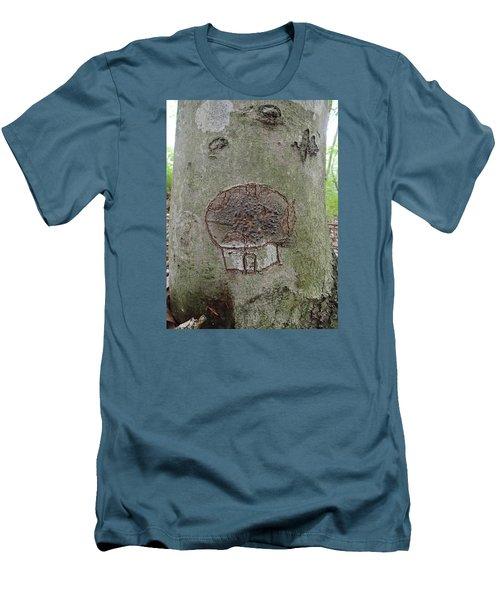 Tree Spirit Men's T-Shirt (Slim Fit) by Robert Nickologianis