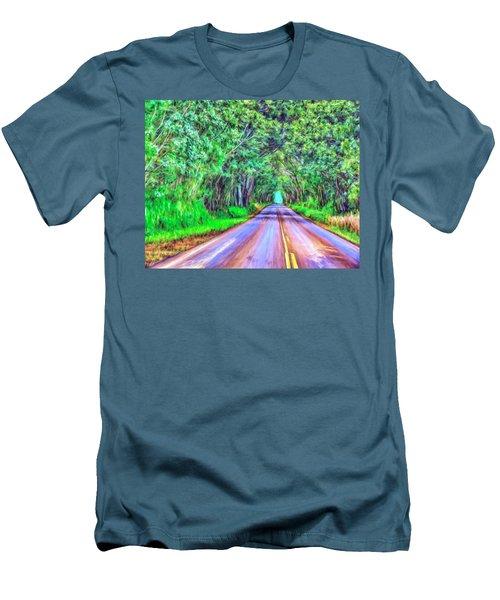 Tree Tunnel Kauai Men's T-Shirt (Athletic Fit)