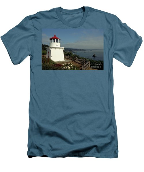 Men's T-Shirt (Slim Fit) featuring the photograph Trinidad Light by Sharon Elliott
