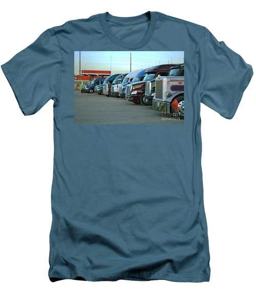 Truck Stop Men's T-Shirt (Athletic Fit)