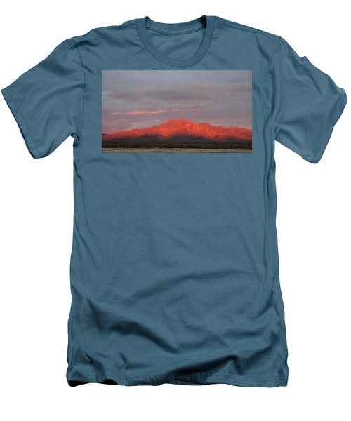 Men's T-Shirt (Slim Fit) featuring the photograph Tucson Mountains by David S Reynolds
