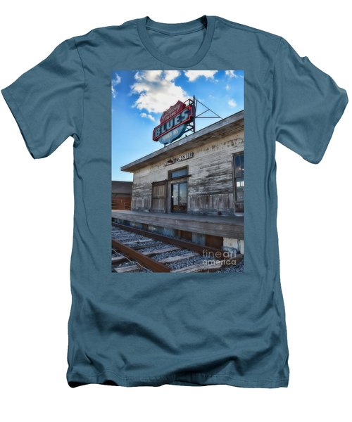 Tunica Gateway To The Blues Men's T-Shirt (Slim Fit) by Donna Greene