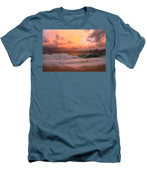 Men's T-Shirt (Slim Fit) featuring the photograph Turbulence  by Eti Reid