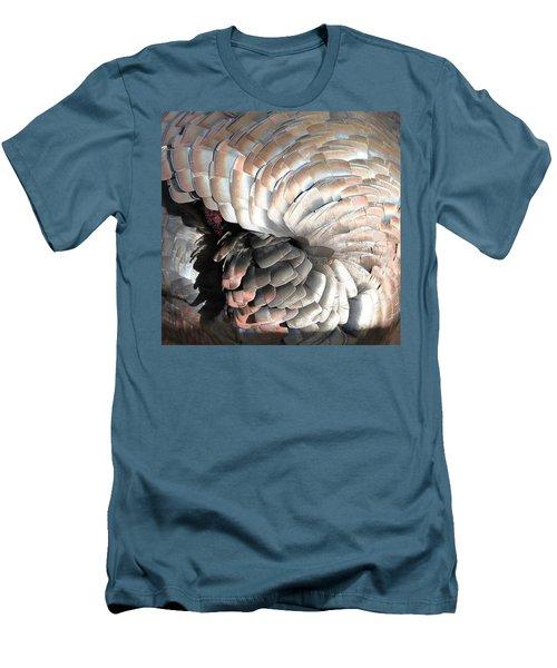 Men's T-Shirt (Slim Fit) featuring the photograph Turkey Siesta by Diane Alexander