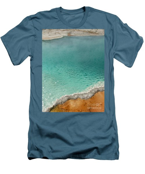 Turquoise Jewels Men's T-Shirt (Athletic Fit)