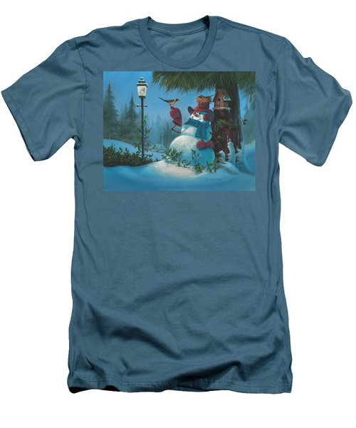 Tweet Dreams Men's T-Shirt (Slim Fit) by Michael Humphries
