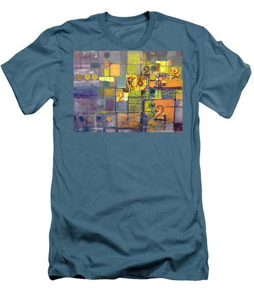 Twice Men's T-Shirt (Slim Fit) by Karin Husty