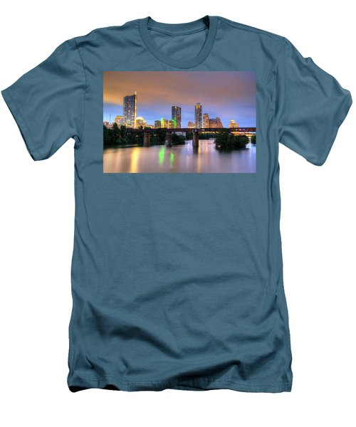Twilight On The Lake Men's T-Shirt (Athletic Fit)