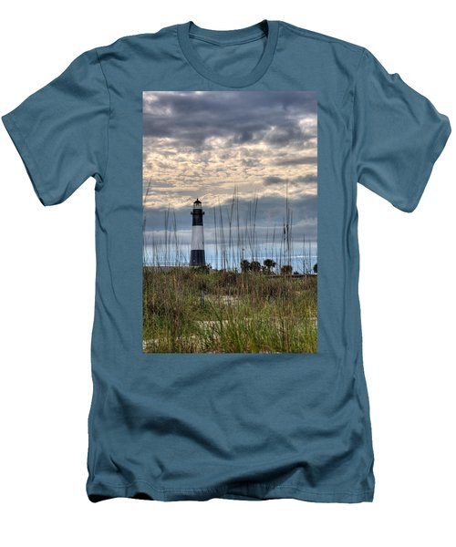 Tybee Light Men's T-Shirt (Athletic Fit)