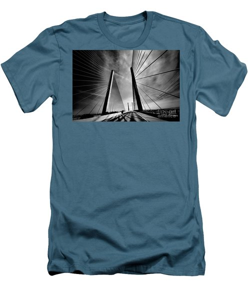 Men's T-Shirt (Slim Fit) featuring the photograph Up N Over by Robert McCubbin