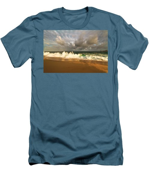 Men's T-Shirt (Slim Fit) featuring the photograph Upcoming Tropical Storm by Eti Reid