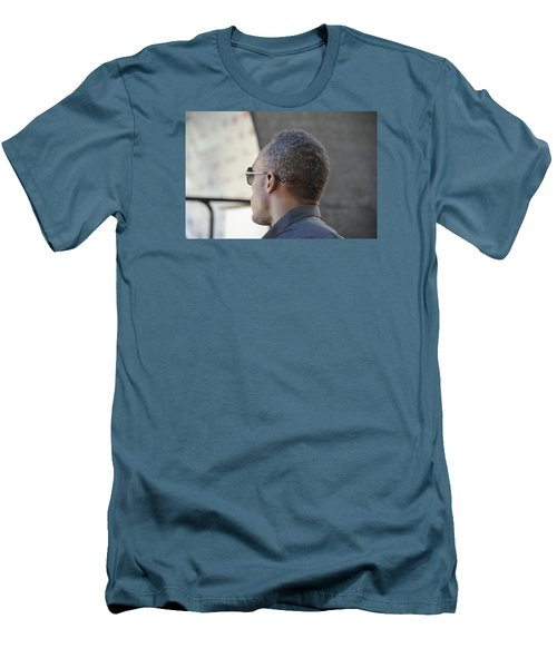 Usain Bolt - The Legend 2 Men's T-Shirt (Slim Fit) by Teo SITCHET-KANDA