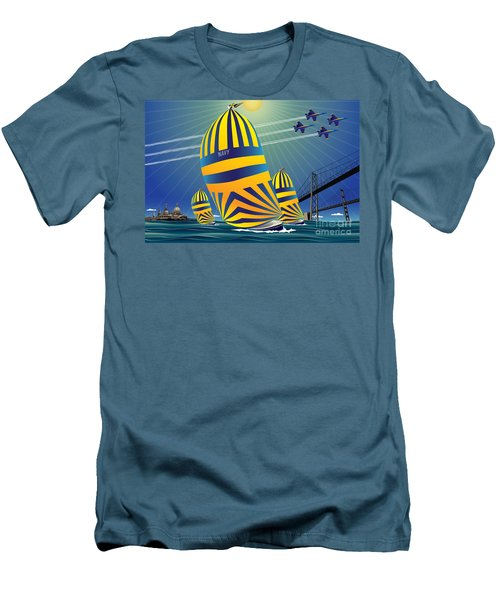 Usna High Noon Sail Men's T-Shirt (Athletic Fit)