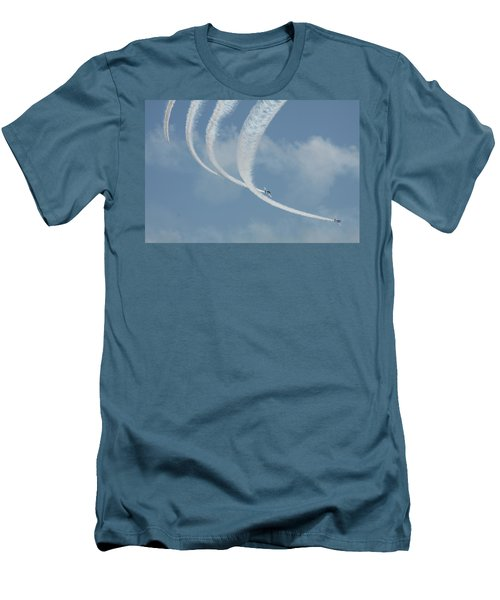 Vapor Trails In The Empty Air Men's T-Shirt (Athletic Fit)