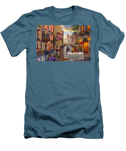 Venice Al Fresco Men's T-Shirt (Athletic Fit)