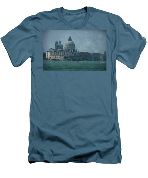 Men's T-Shirt (Slim Fit) featuring the photograph Venice Italy 1 by Brian Reaves